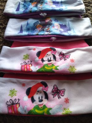 Too minnie mouse two Frozen Christmas hats $3 for all for Sale in Springdale, AR