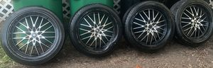 4 wheels and tires for Sale in Houston, TX