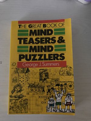 Mind teasers & mind puzzlers for Sale in Grayson, GA