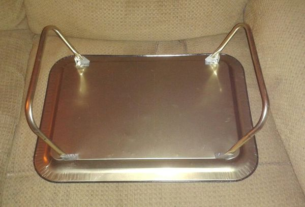 1980s PAC-MAN Metal TV Trays