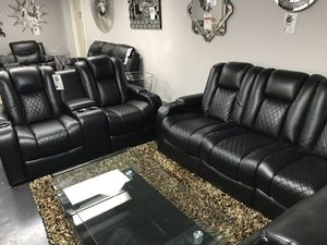 🔥REALLY REALLY NICE ELECTRIC RECLINING SOFA AND LOVE SET🔥 $2359 or $39 DOWN for Sale in Irving, TX