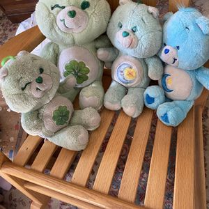 Vintage Care Bears Plush Toy Dolls for Sale in Suffolk, VA