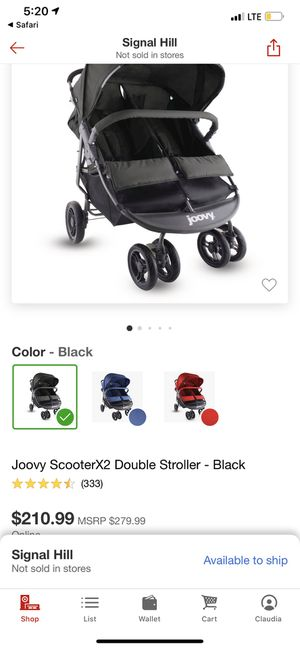Joovy double stroller for Sale in Long Beach, CA
