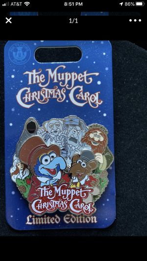 Disney The Muppet Christmas Carol Pin for Sale in San Juan Capistrano, CA