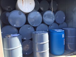 55 Gallon Metal Drums for Sale in Grosse Pointe Park, MI