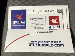 iFly Voucher/Up to 5 People for Sale in FL, US
