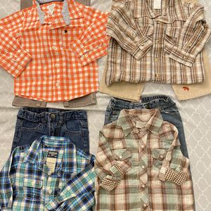 Toddler Boys 18-24months 8pcs ($4.50each bag 8) $35 for pick up only Thursday Friday Saturday Sunday Monday 3-6pm for Sale in Los Altos, CA