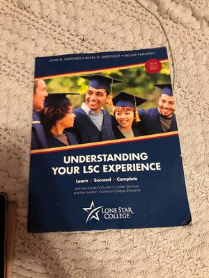 Understanding your lsc experience book for Sale in Houston, TX