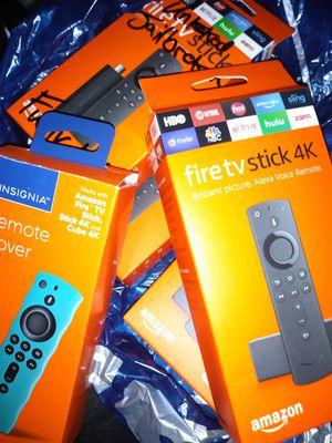 Fire TV Stick 4K MEGA19 FULLY-LOADED for Sale in Houston, TX