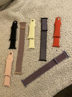 Apple Watch Bands for Series 3, 4 and 5. $10 Each. Fits 40mm or higher.... for Sale in Mechanicsburg, PA