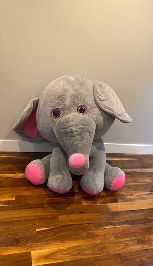 Giant stuffed elephant / animal for Sale in Nashville, TN