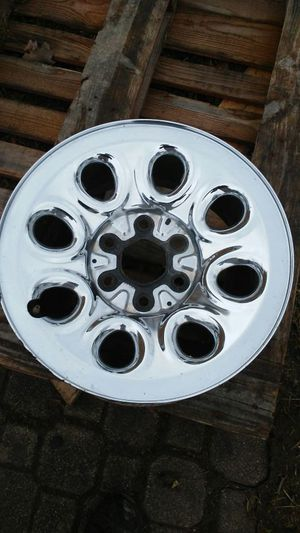 17in 6 lug rims chrome plated $150 for Sale in Pataskala, OH