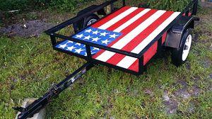 Trailer 4ft x 6ft trailer utility 6 x8 for Sale in Pembroke Pines, FL