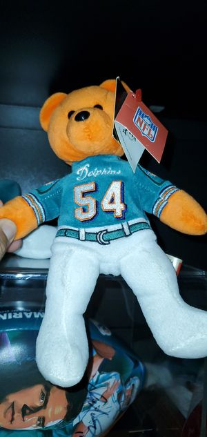 Dolphin mint condition Zach Thomas beanie baby for Sale in Fort Lauderdale, FL