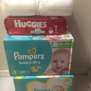 Pampers Size 1 for Sale in The Bronx, NY