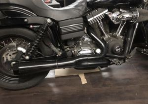 Harley Dyna exhaust: Bassani road rage 2 into 1 exhaust for Sale in El Cajon, CA