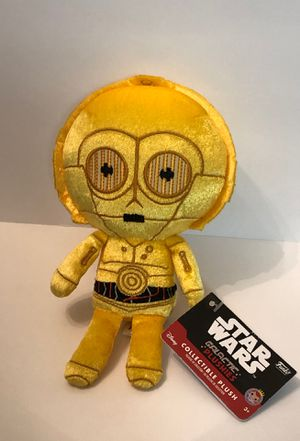 "Star Wars C-3PO Collectible 6"" Plush Funko Galactic Plushies New for Sale in Las Vegas, NV"