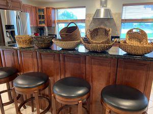 Decorative basket bundle for Sale in Stuart, FL