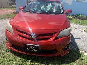 2012 Toyota Corolla S for Sale in Pembroke Park, FL