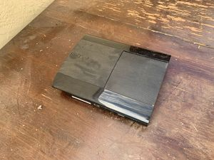 PS3 120 GB with two controllers and charging stand for Sale in Newark, CA