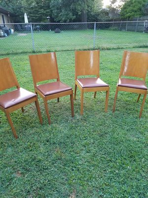 8 wooden chairs for Sale in Swansea, IL