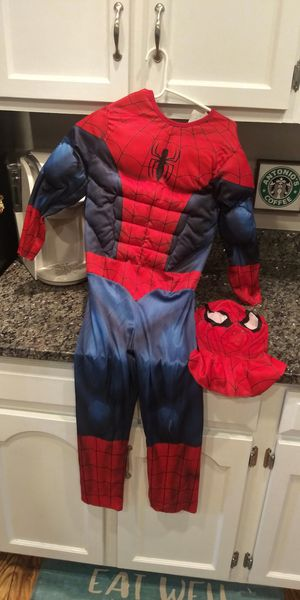 Spider Man: boys MEDIUM costume for Sale in Germantown, MD