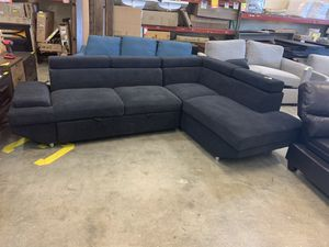 Furniture of America Sectional with Sleeper Bed for Sale in Mount Vernon, WA