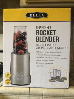 Rocket blender 12 piece for Sale in Fresno, CA