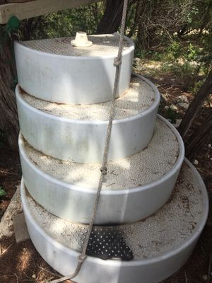 Wedding cake pool stairs for Sale in Lago Vista, TX