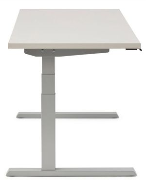Haworth stand up desk (white) for Sale in Solana Beach, CA