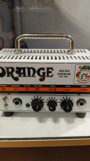 Orange micro terror 20w mini guitar amp head for Sale in Downers Grove, IL