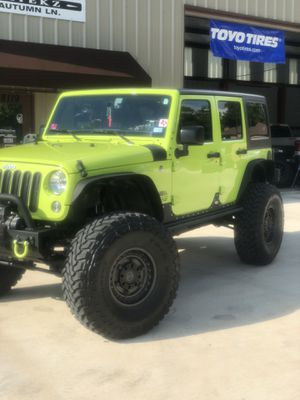 40s wheels and tires Jeep for Sale in Magnolia, TX