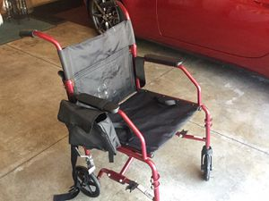 Extra wide transport chair for Sale in Pekin, IL