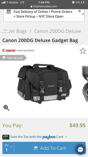 Canon 200D Gadget Bag for Sale in Addison, TX