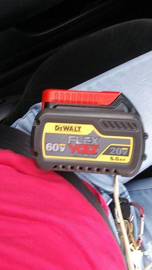 DEWALT FLEXVOLT 20-Volt /60-Volt MAX Lithium-Ion Battery Pack 6.0 Ah for Sale in Portland, OR