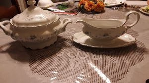 Antique Vegetable Dish and Gravy Boat - Johann Haviland - Fine China - Replacement Pieces for Sale in Orlando, FL