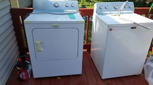 Wash and dry new !!! With 10 years warranty selling cause I don't have space for them for Sale in Hyattsville, MD