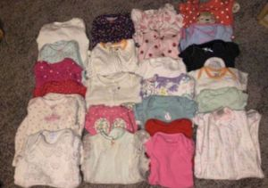 Baby Toddler girl clothes size newborn - 24m / baby wrap / 44 pieces for Sale in Dana Point, CA