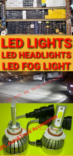 Auto Led Headlight hid Led lights Low Beam High Beam, Fogs Lights Daytime Running Luces Led pairs H1 H4 H7 h9 H11 H13 9005 9006 90074 9004 880 5202 for Sale in Santa Ana, CA