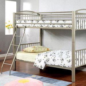 Bunk Bed Twin Twin Take it home today for Sale in Madera, CA