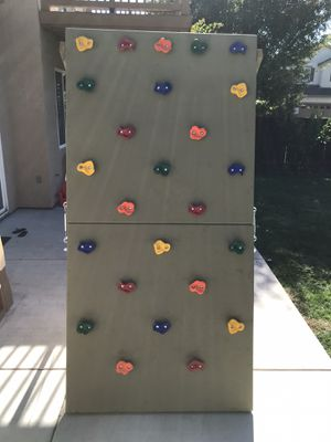 Rock Climbing Wall or trade for playground swing set for Sale in Stockton, CA