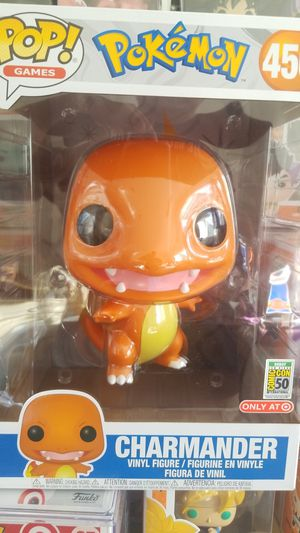Funko SDCC Debut Pokemon 10 inch Charmander Target Exclusive for Sale in Placentia, CA