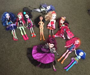 Monster High Dolls for Sale in Fontana, CA