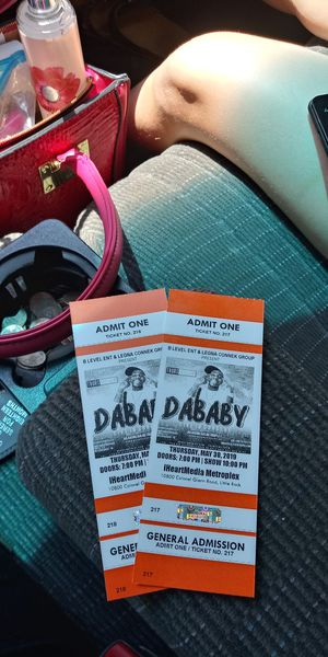Da Baby tickets for Sale in Sherwood, AR
