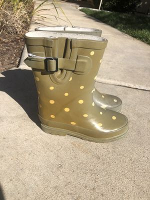 Girls Rain boots size 12 for Sale in Temecula, CA