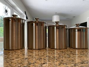 Stainless Steel Food or Craft Storage Containers for Sale in Palmetto Bay, FL