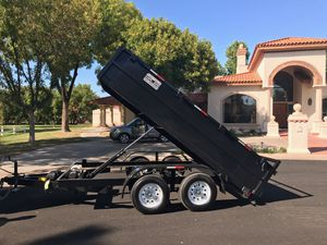 New Dump Trailer 6x12x2 two 3500 axles for Sale in Mesa, AZ
