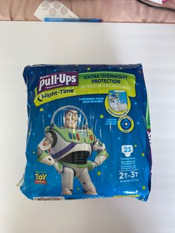 Huggies pull-ups training pants night time - 23 counts 2T -3 T for Sale in Anaheim,  CA