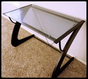Glass Computer Desk for Sale in Laveen Village, AZ