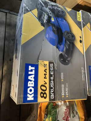 KOBALT 80v MAX lawn mower BRAND NEW IN BOX for Sale in Pittsburgh, PA